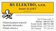 RS ELEKTRO s.r.o. - Radek Sladký